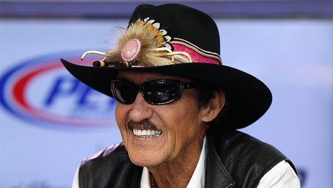 HAPPY BIRTHDAY TO THE KING OF NASCAR RICHARD PETTY.