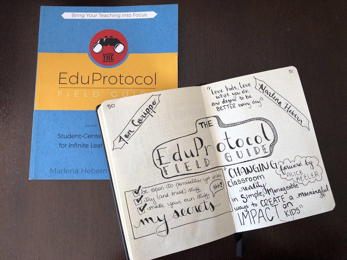 My teacher summer read and notes! #EduProtocols #lettering @jcorippo @mhebern