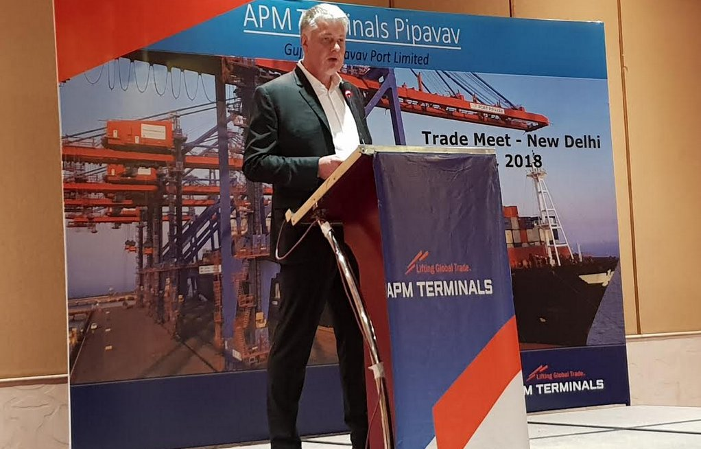 APM Terminals Pipavav now connected through 7 dedicated block container trains per week from earlier 3