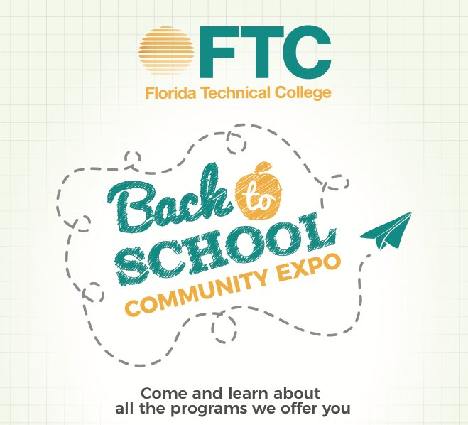 Florida Technical College On Twitter Back 2 School Event Check Below For Nearest Locations Kissimmee Https T Co Ibeiamlly7 Orl Https T Co Hycq3scnto Deland Https T Co Audpiy34me Cutler Bay Https T Co Wdp6xys9bu Pembroke Pines Https