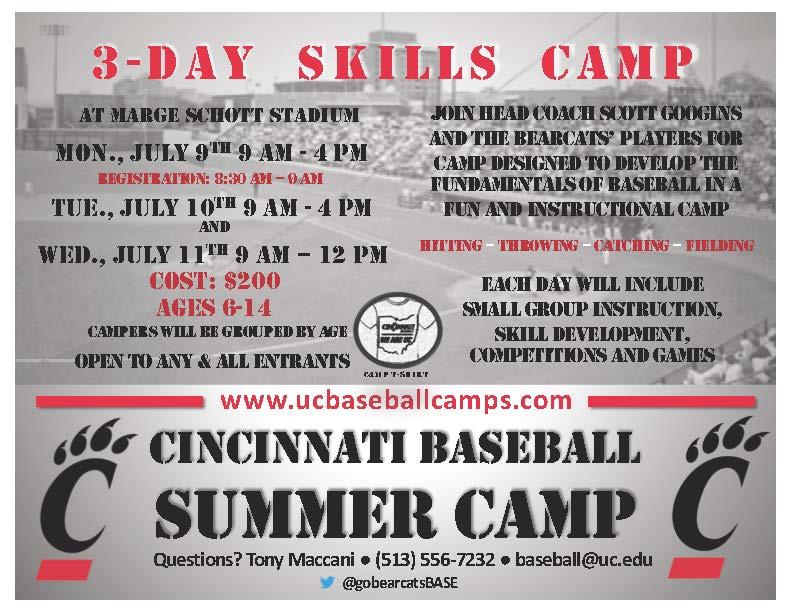 Cincinnati Baseball On Twitter Camp Is 1 Week Away From Today