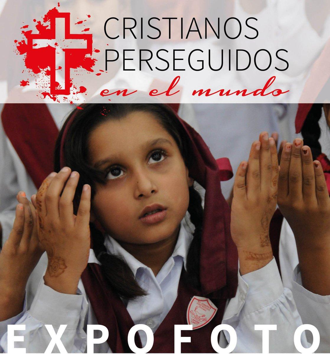 Resultado de imagen de expofoto aralar cristianos perseguidos