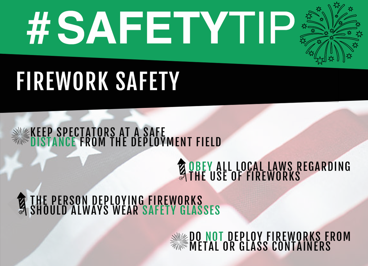 test Twitter Media - With the 4th of July right around the corner, we want YOU to stay safe! #FireworkSafety #4thofJuly https://t.co/9A2lrsT2NM