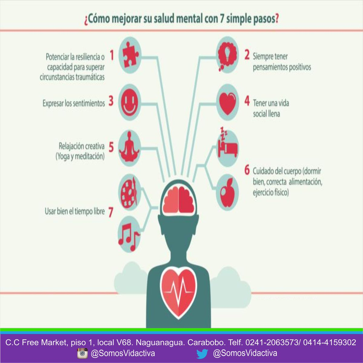 tips para una mejor salud mental