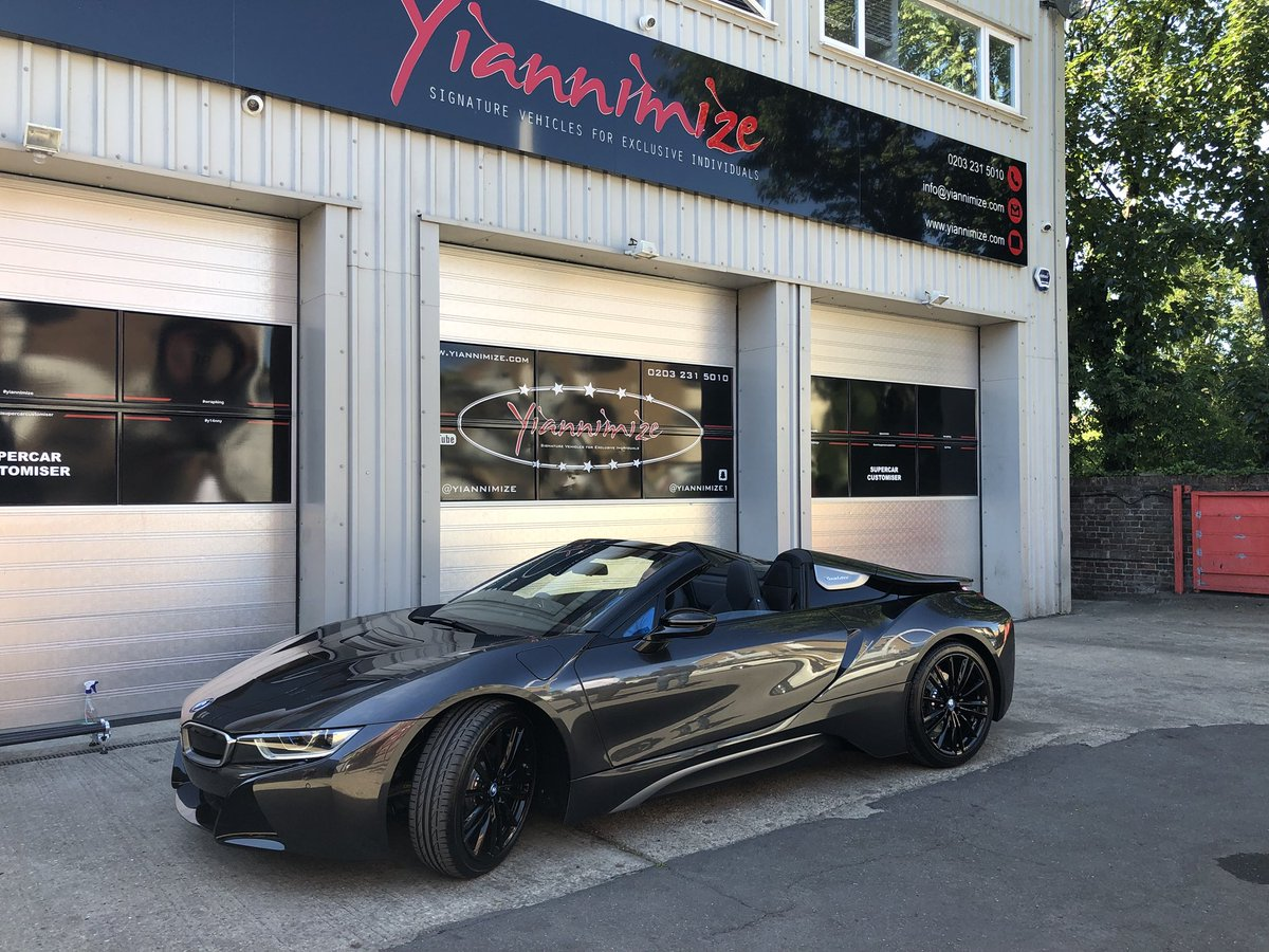 Yianni Charalambous On Twitter Bmw I8 Roadster In For A Full Wrap