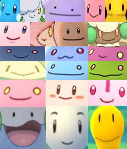 Pokemon with :) faces RT if you agree