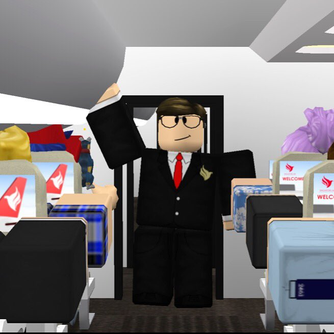 Roblox Flight Attendant Uniform