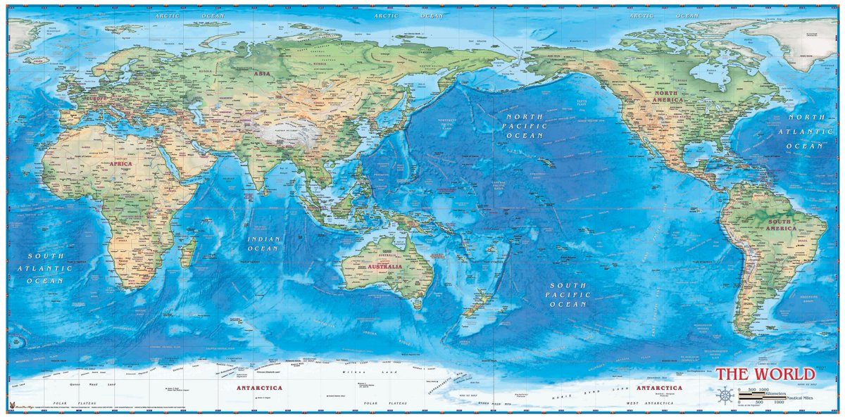 Picture of: Nawawi B On Twitter Lately I Ve Been Looking Into The Whole Us East Asia China Geopolitics Indopacific Thing With The Standard World Map As My Constant Reference Naturally The Us Looked