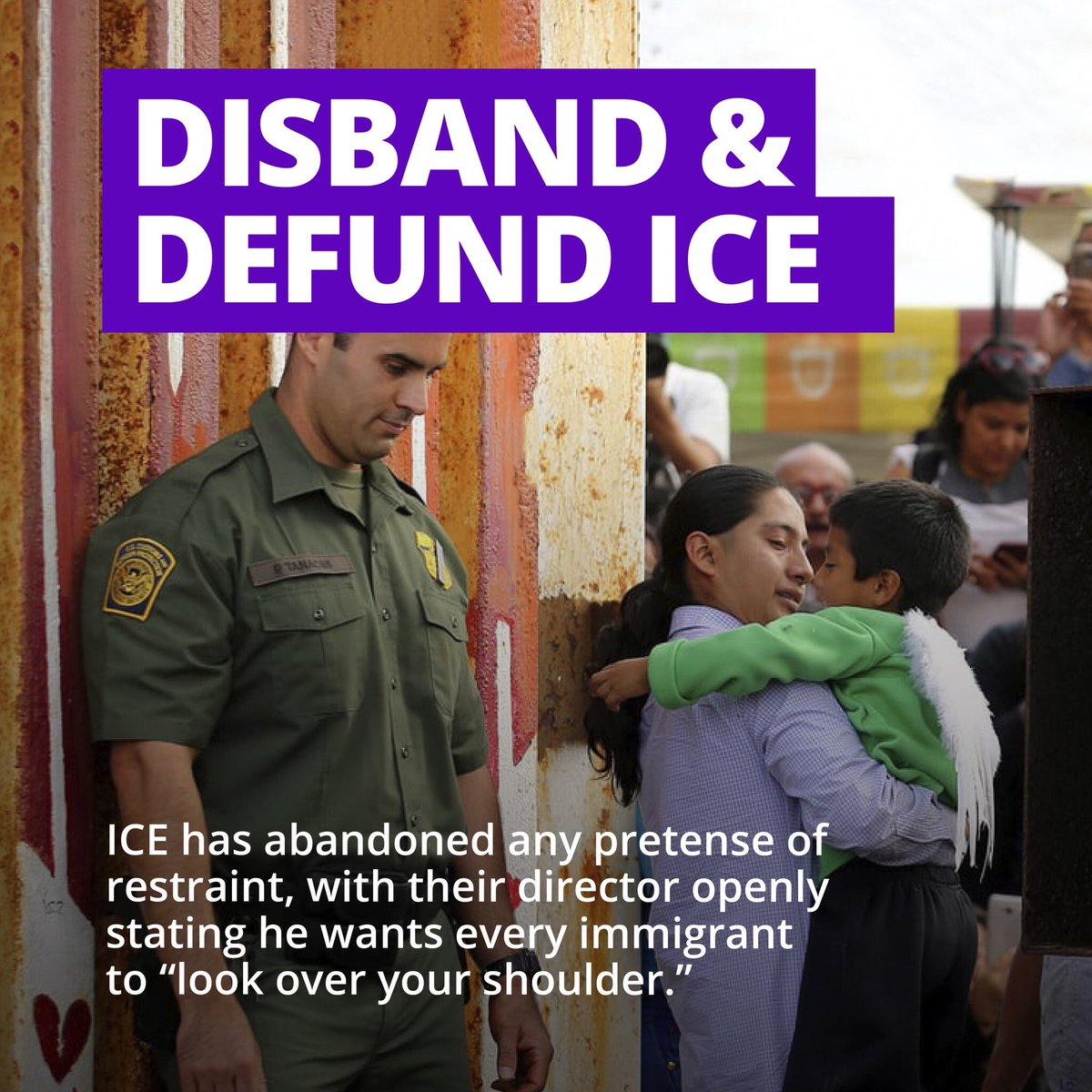 Image result for disband ice now