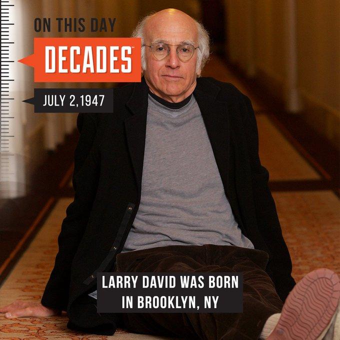 Happy 71st Birthday Larry David!