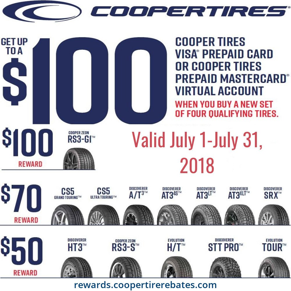 Tire Wholesalers Co On Twitter Cooper Tire Rebate Going On Now