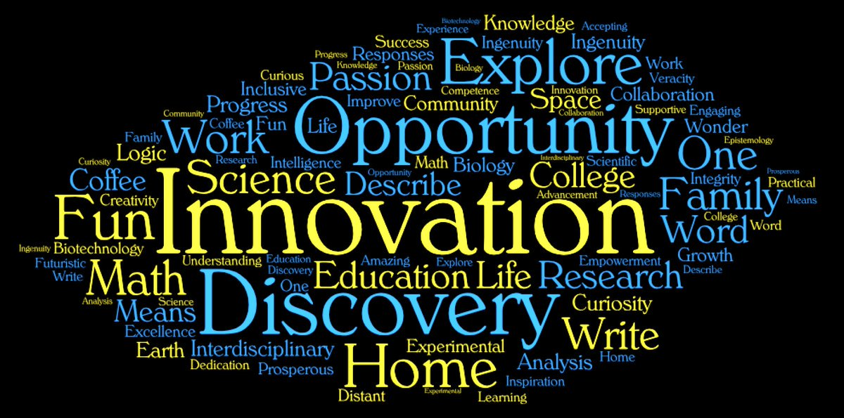 7e1ef539608348 ... describes what RIT College of Science means to them.  bestcollege   wordcloud  scienceeducation  sciencecollege   innovativepic.twitter.com VZIG19LhyF