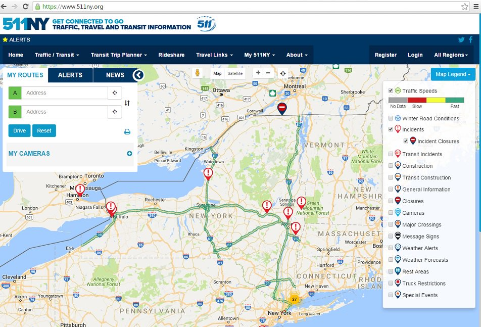 #KnowBeforeYouGo with http://511NY.org or by downloading the free mobile app. Find the latest incidents and travel conditions to plan the most efficient ...