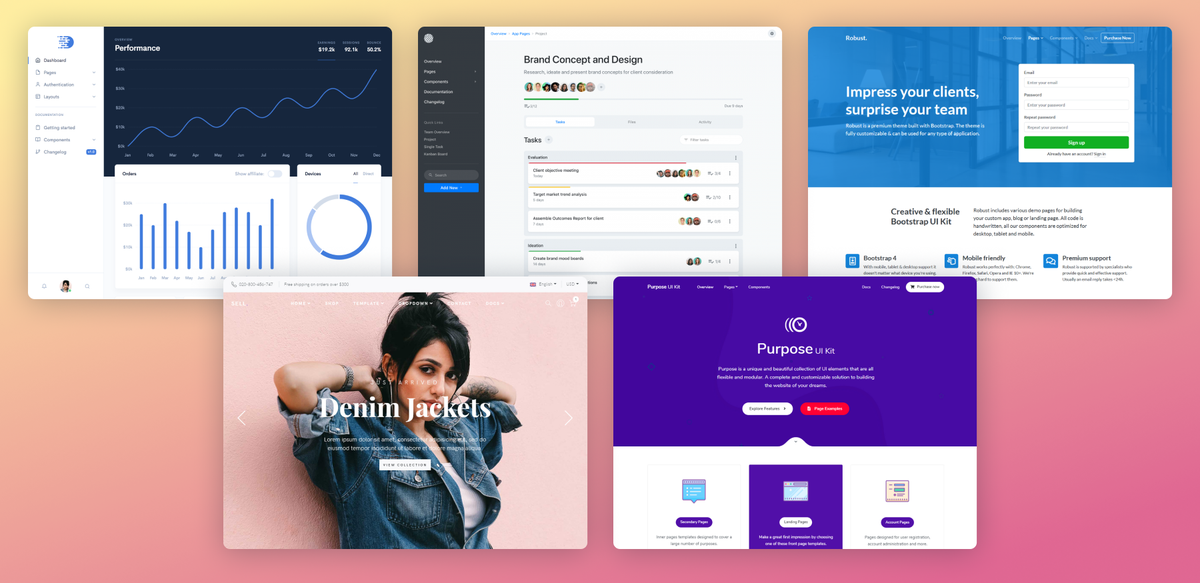 Holy moly! Five new Bootstrap Themes in the past month! themes.getbootstrap.com/shop/?orderby=…