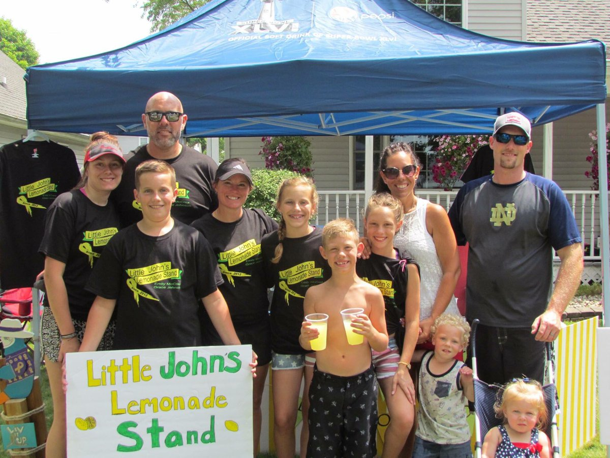 Another great year at the 6th annual Little John's Lemonade Stand! #LiveItUp 🍋❤️