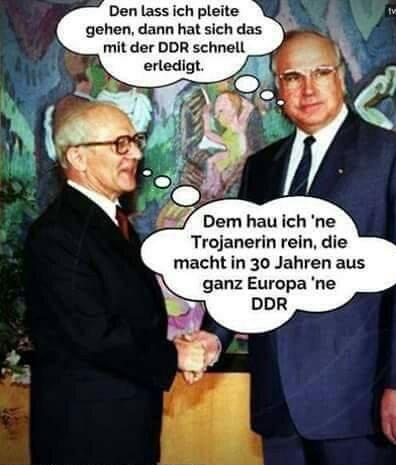 Bildergebnis für honecker merkel