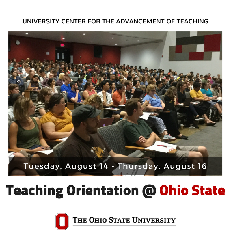 Have you registered for our August Teaching Orientation? Learn more and register online: https://t.co/0fNiZKB0Bu