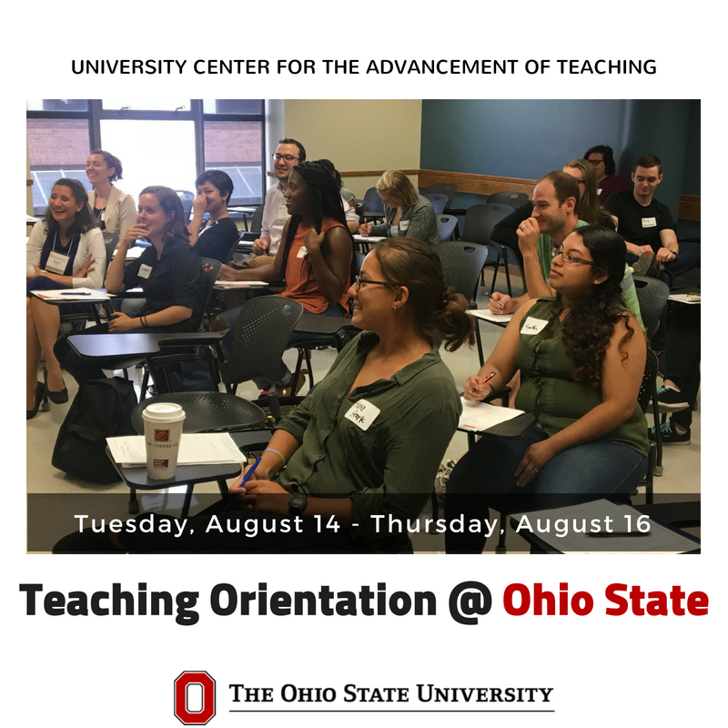 """It's wonderful to be able to emphasize the importance and value of teaching...[and] to help new instructors overcome concerns and doubts, and learn effective practices that will help them be successful in their new roles.""- Orientation Facilitator https://t.co/0fNiZKjpJW"
