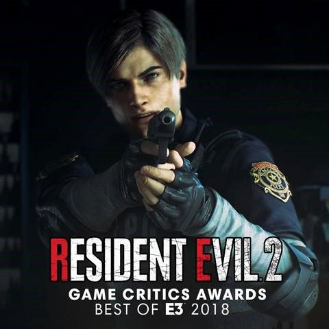 Resident Evil 2 has won Best of Show at the Game Critics awards for E3 2018! Thank you to all the judges, as well as all Resident Evil fans and supporters around the world! gamecriticsawards.com/winners.html