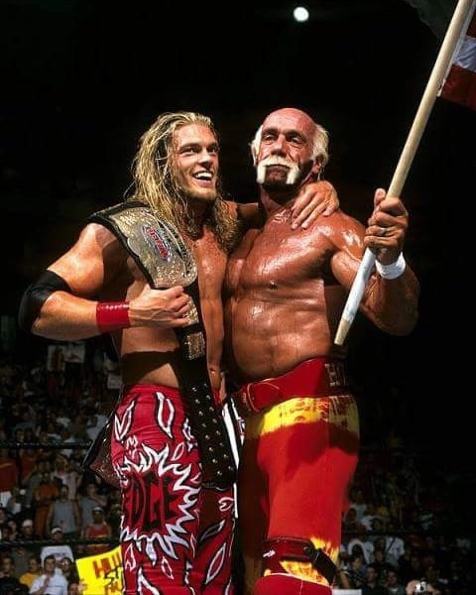 """Hulk Hogan on Twitter: """"@EdgeRatedR is truly one of the greats in ..."""