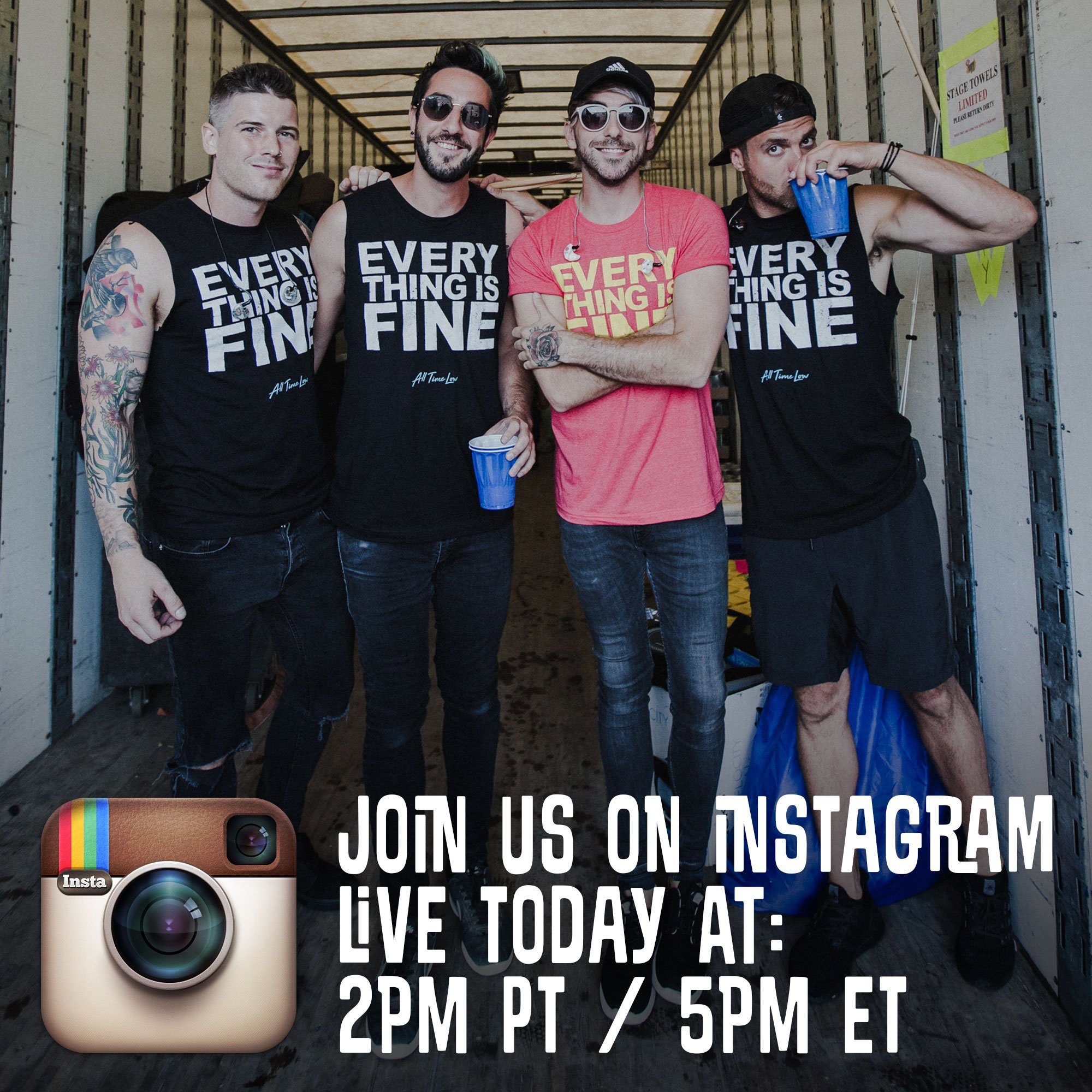 Tune in live on Instagram in 1 hour! https://t.co/0X7BfhLZH3 https://t.co/qsDmiimNlD