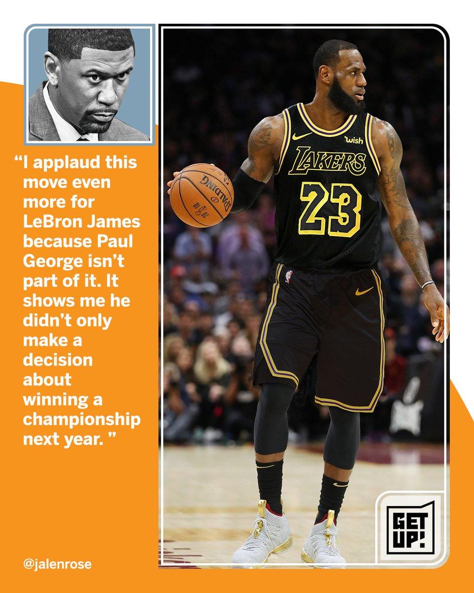 Bigger than Basketball. @getupespn