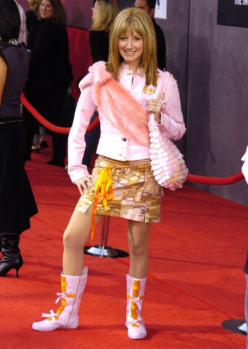 Happy birthday to our lord and savior and style icon Ashley Tisdale