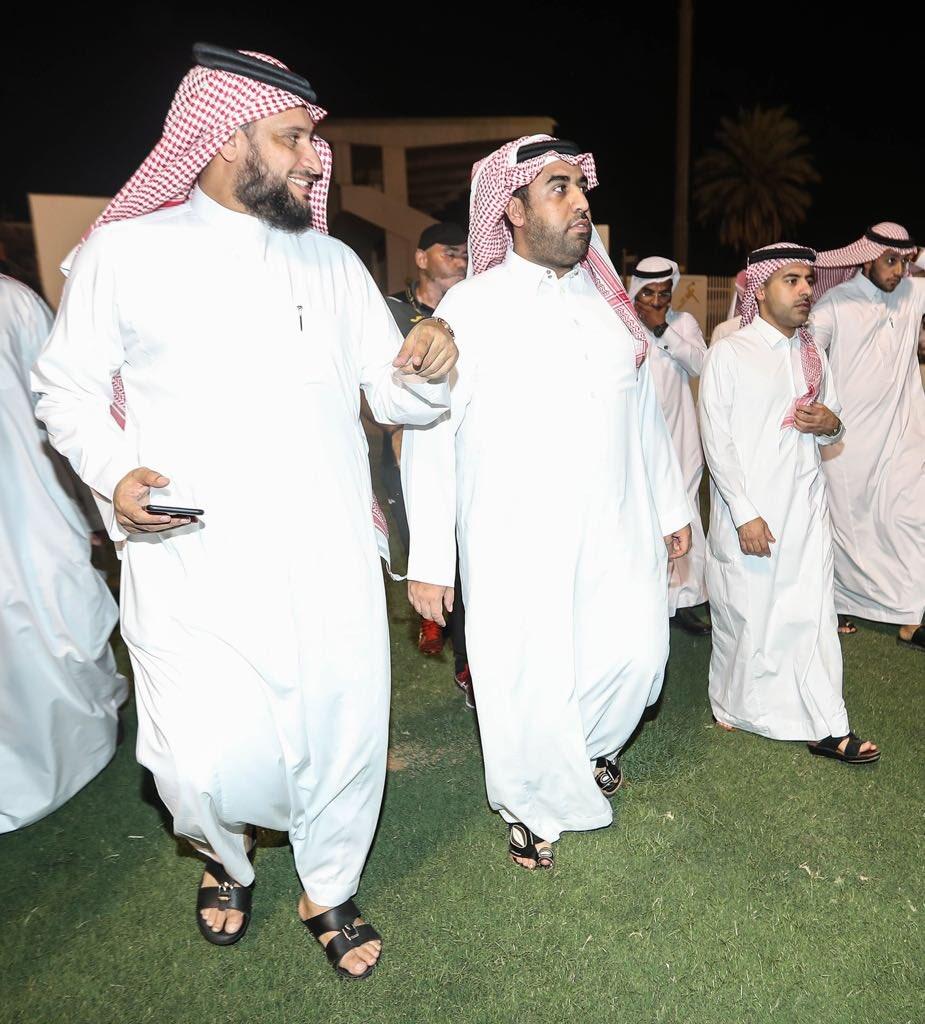 المركز الإعلامي/📸📝 رئيس النادي يتفقد مرافق النادي ومنشئاته