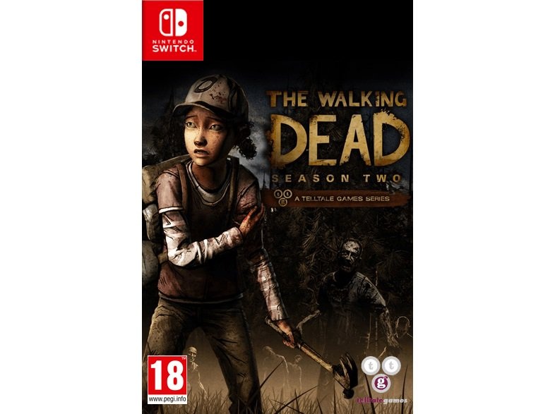 The Walking Dead Season 1 and 2 listed for Switch Tweet