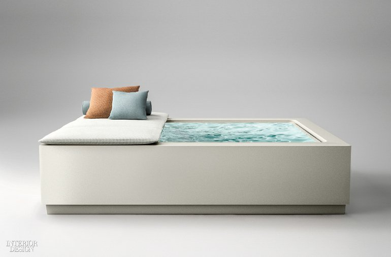 Interior Design On Twitter The Freestanding Mini Infinity Pool By
