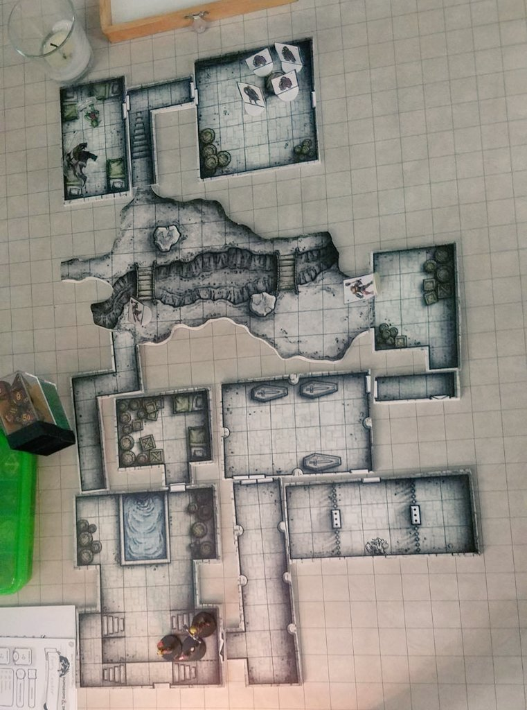 picture regarding Redbrand Hideout Map Printable identified as 🐉🎲GM Travis🎲🐉 upon Twitter: \