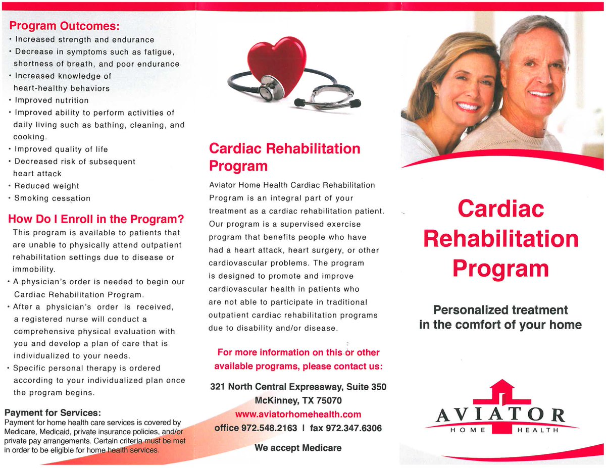 Awesome Aviator Home Health On Twitter Our Cardiac Rehab Program Download Free Architecture Designs Scobabritishbridgeorg