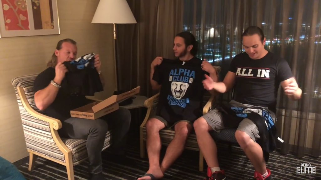 "Résultat de recherche d'images pour ""chris jericho being the elite"""