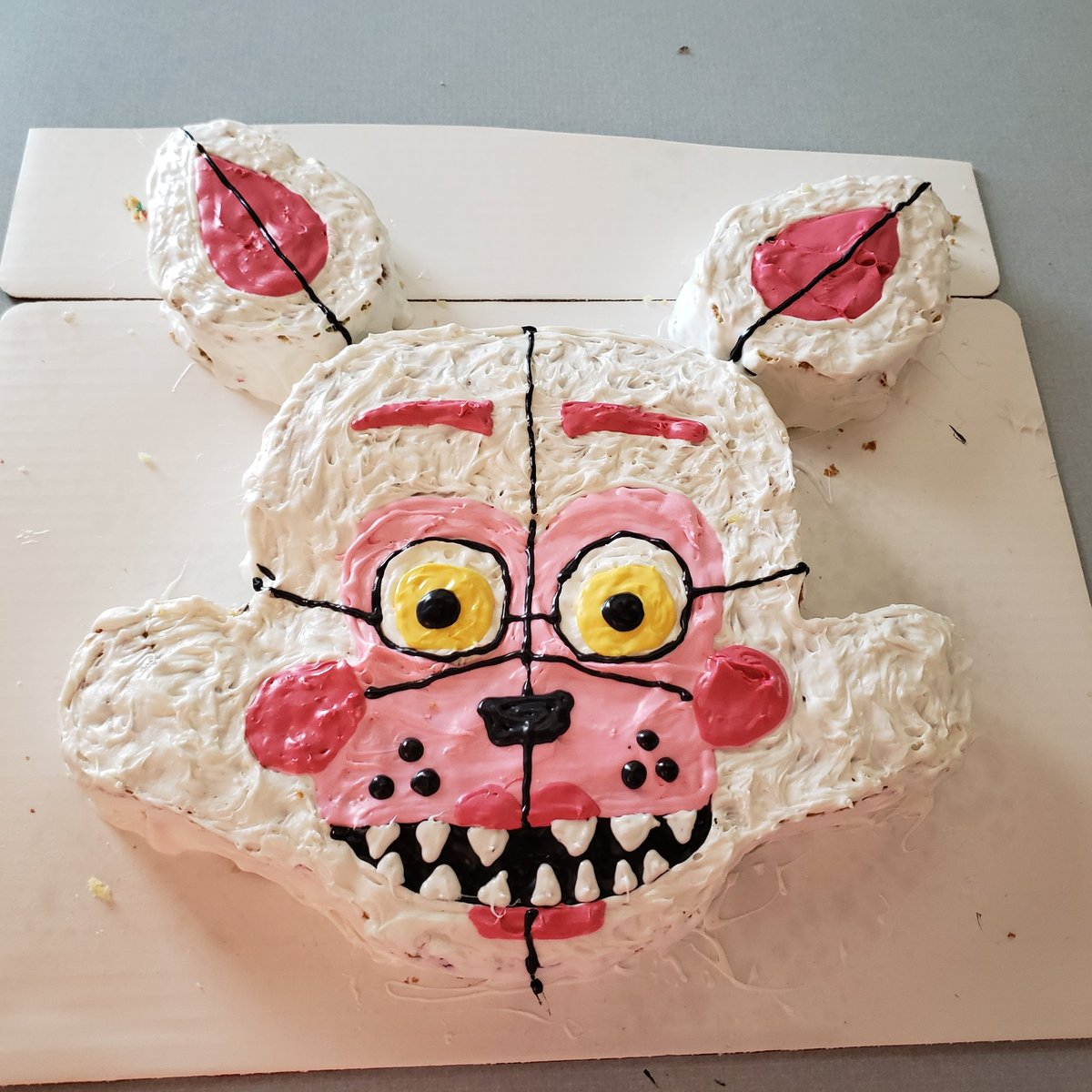 Amanda De Shano On Twitter Funtime Foxy Birthday Cake I Made For
