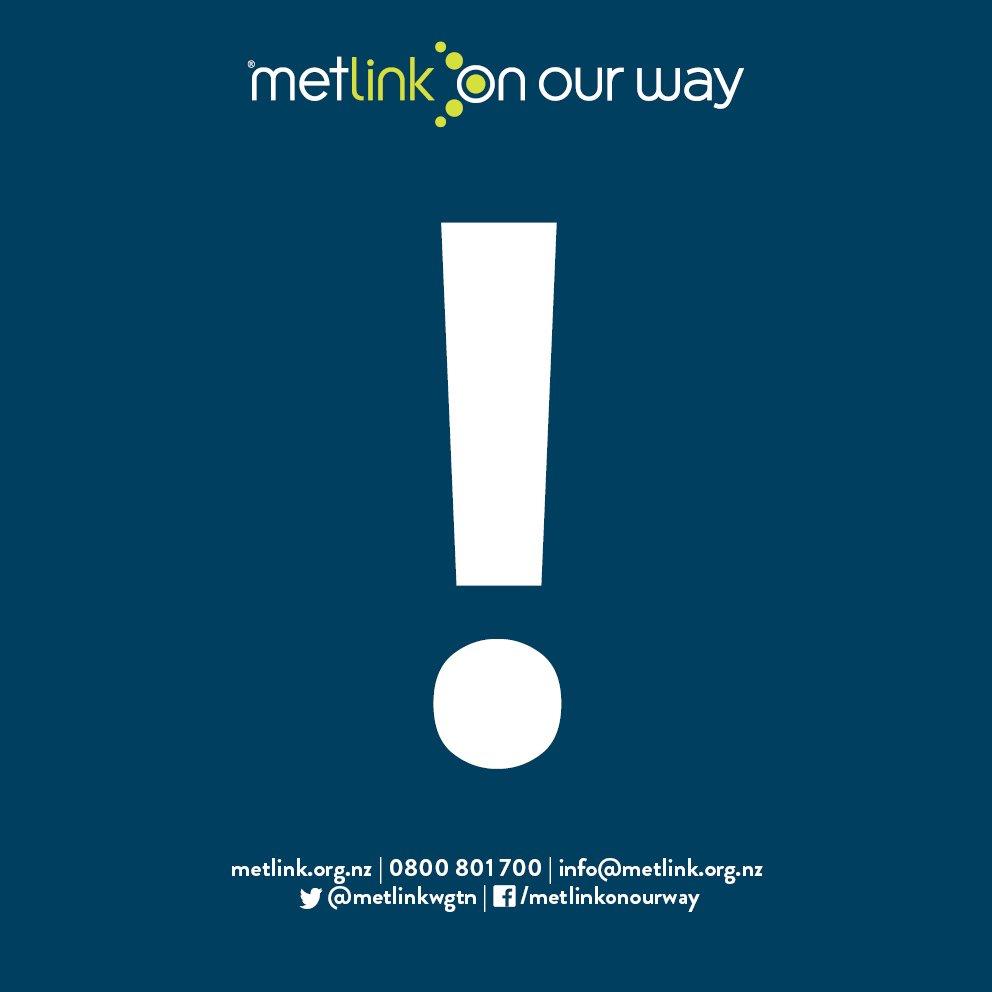 Metlink app