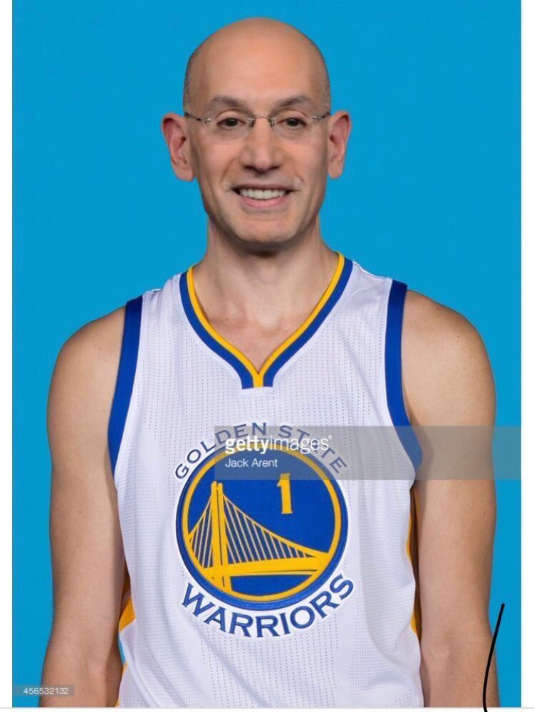 wojnarowski adam silver will sign a one year 2 6m deal with