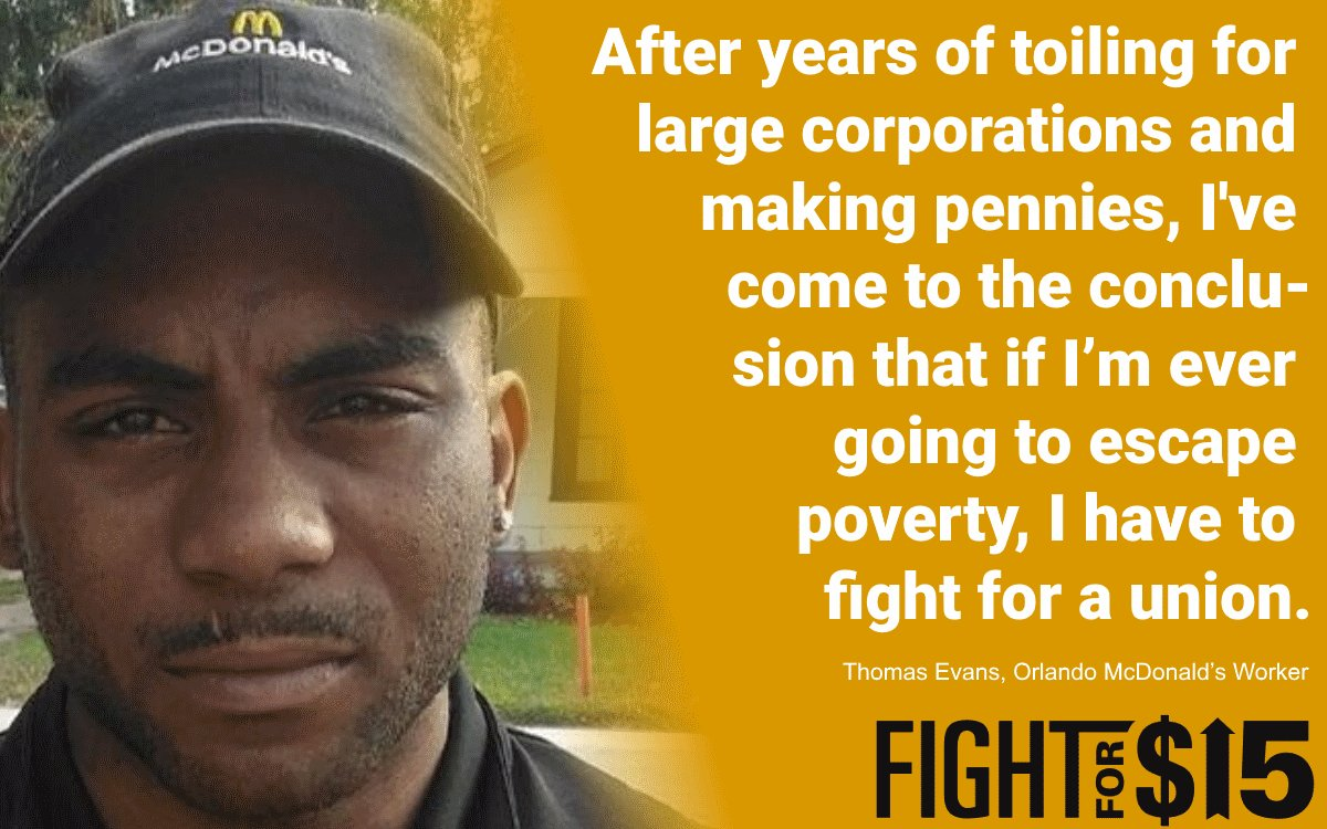 Paying poverty wages is immoral. #FightFor15
