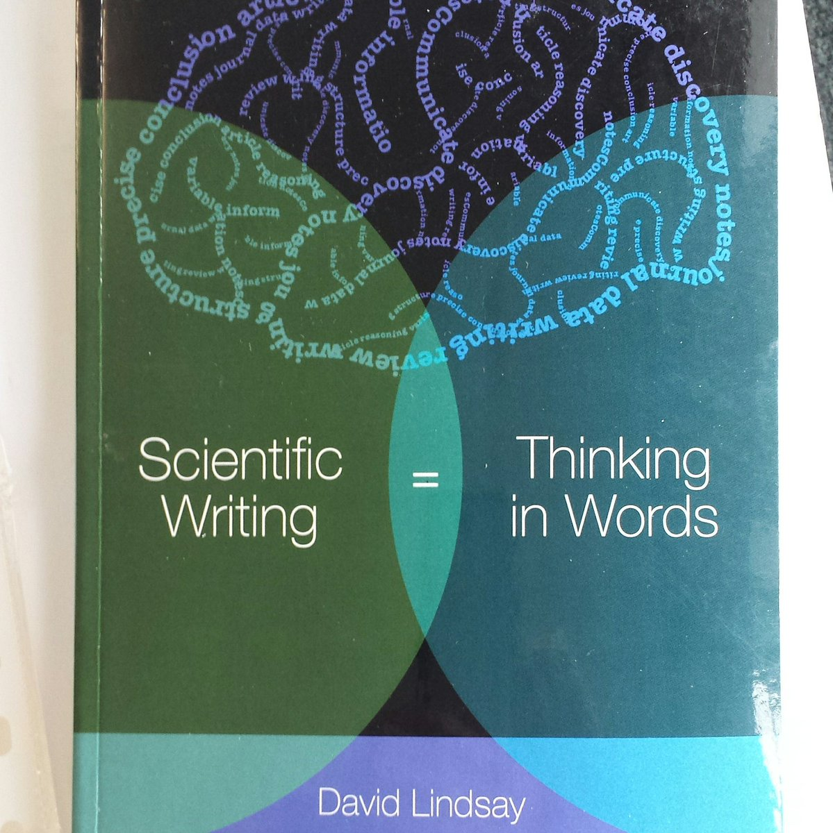 This is another book I bought from @CSIROPublishing. Got it a while back but delved into it yesterday in search of inspiration. A good help to fine tune my discussion for the next manuscript. #scientificwriting <br>http://pic.twitter.com/I6LNdXOVY7