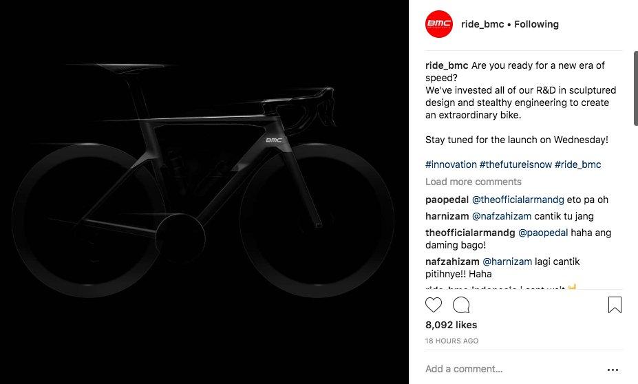 e46c9d8e0 Looks like BMC is set to launch a new TimeMachine 1 aero road bike with rim  or disc brakes