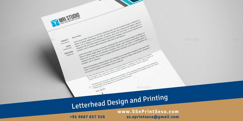 Attractive and customize Letterhead Printing Keep it easy with letterhead Design and Printing from SSePrintseva #Printing #Letterhead #customizePrinting Say Hello to SS ePrintSeva: +91 9687657526 (24 x 7) | ss.eprintseva@gmail.com Webiste: http://www.SSePrintseva.compic.twitter.com/udz5IX8UuV