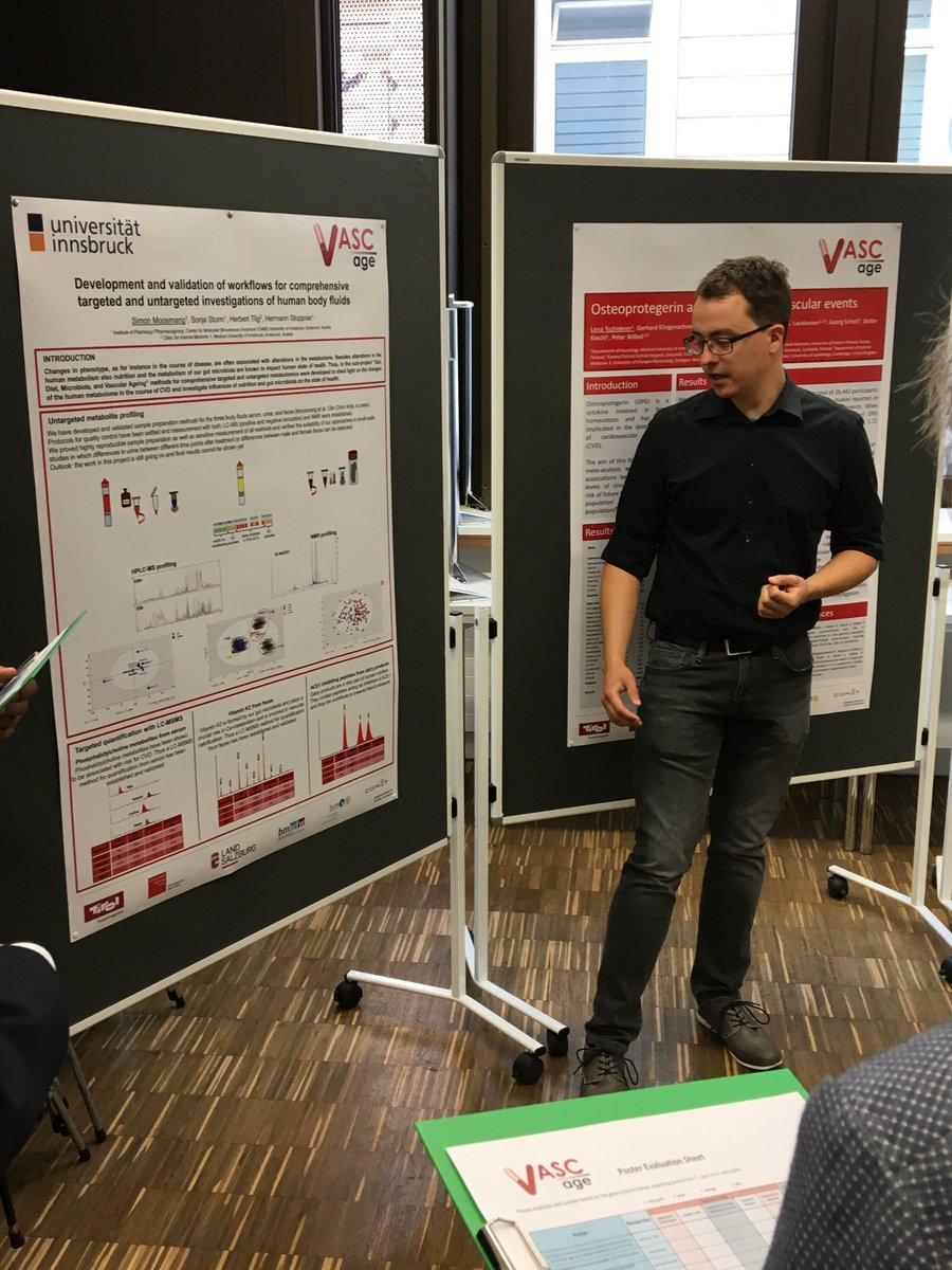 Poster presentations at the VASCage meeting in Innsbruck @imed_tweets