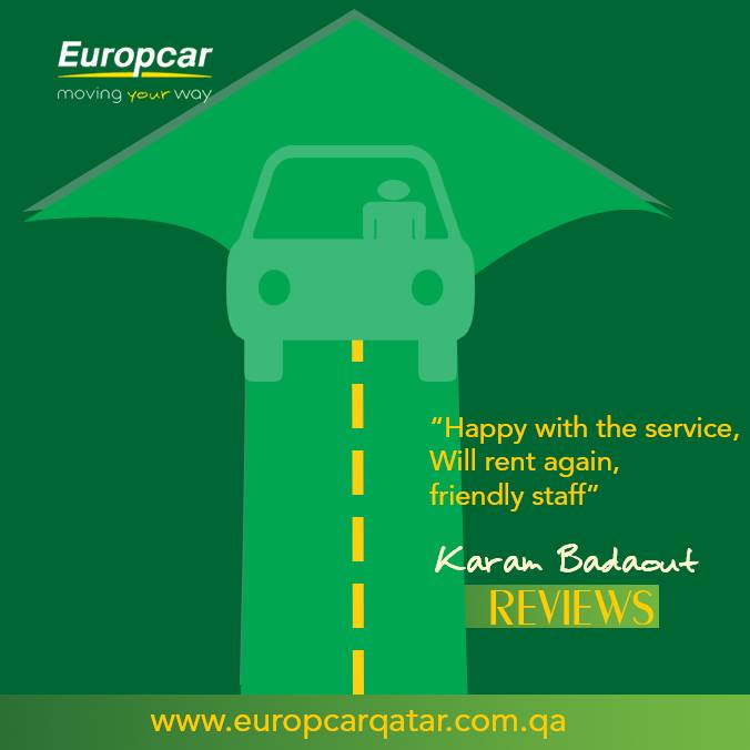 Europcar Qatar On Twitter We Are Happy To Serve To Make Our