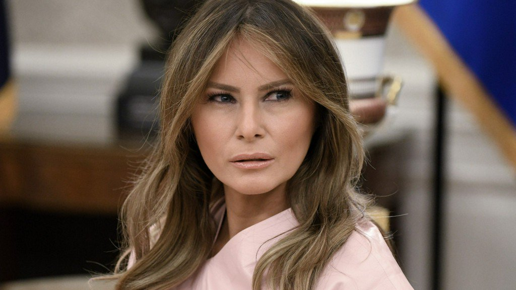 Melania Trump was in the holiday spirit on Christmas Day but Twitter not so much The first lady was trolled on social media after she posted a selfie