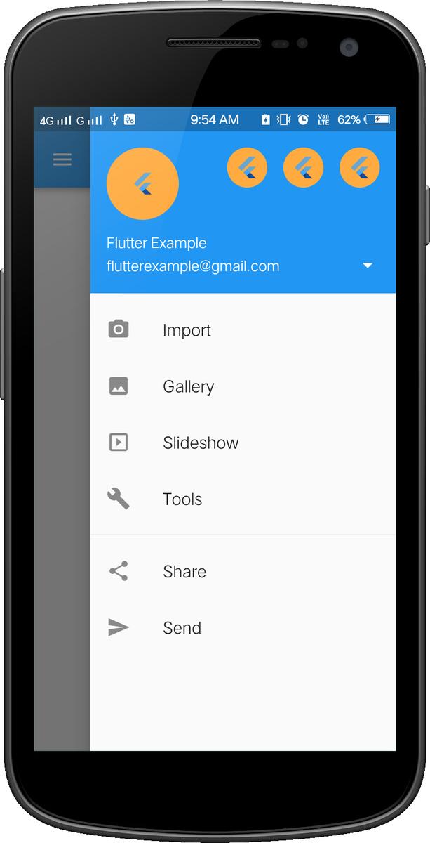 Flutter Provider Example