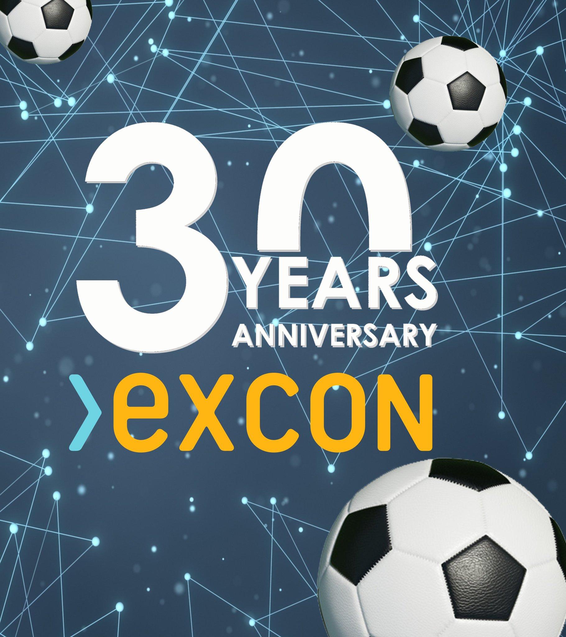 """ExconServices auf Twitter: """"/// JETZT MITMACHEN UND GEWINNEN! /// 30 JAHRE – 30 BÄLLE – unsere exklusive Jubiläumsaktion zur Fußball WM 2018 für unsere langjährigen Mandanten, Partner, Dienstleister und Lieferanten >>> https://t.co/erTvk1HY8F #EXCON #besuretoadvance #30years #Jubiläum #anniversary #WM2018… https://t.co/8Cv04ryijs"""""""