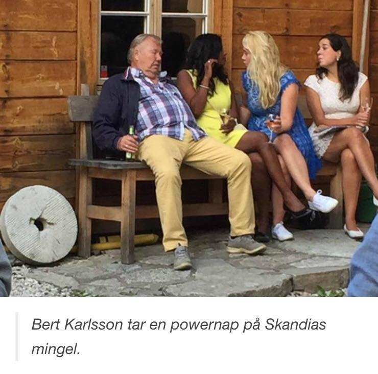 Bert karlsson blir program