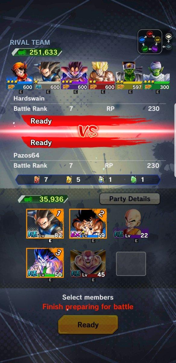 Db legends matchmaking