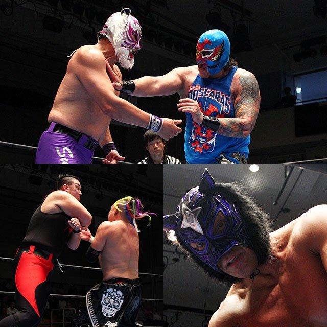 "RJPW:""World Maskedmen Tournament"" Inicia la competencia 6"