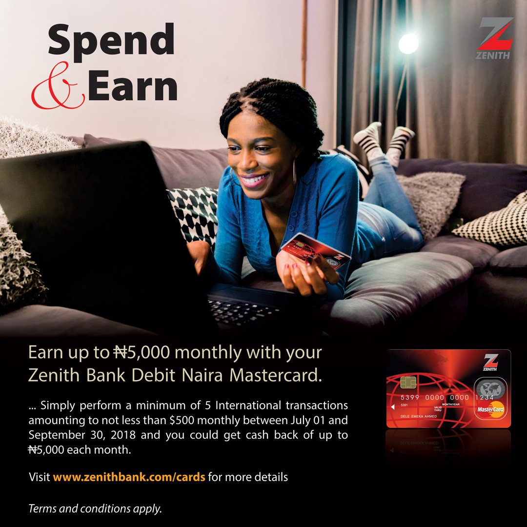 ... in dollars while using your Naira or Dollar debit Mastercard for intl transactions. Visit https://www.zenithbank.com/cardsfor more info.pic.twitter.com/ ...