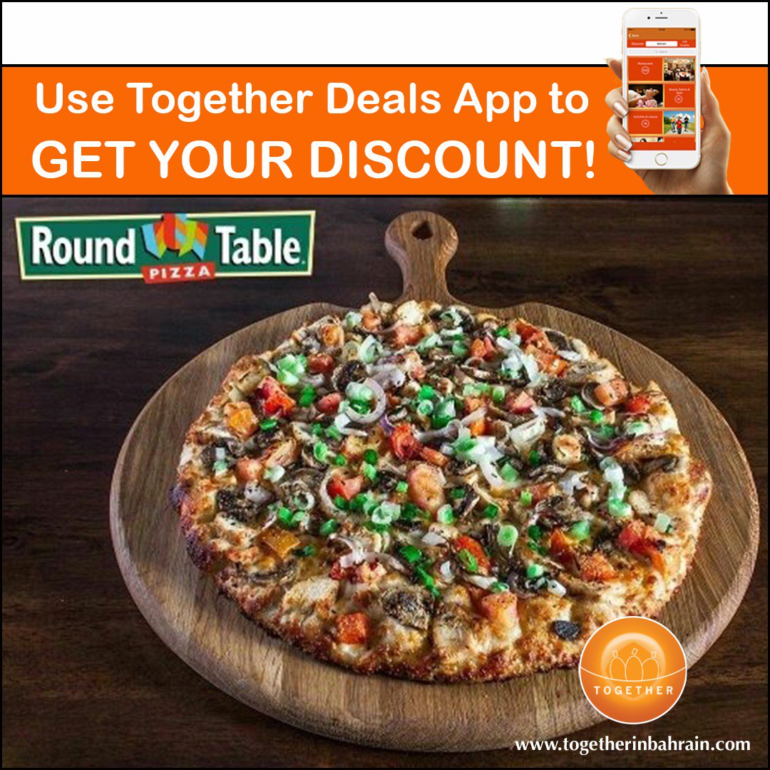 Together In Bahrain On Twitter Pizza Pizza Pizza Save Up To 20 When You Use Together Deals App How To Claim Ur Discount It S Very Simple Download The App From Google